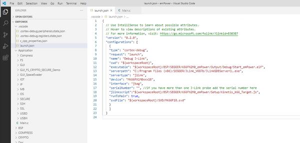 J-Link:Visual Studio Code - SEGGER Wiki